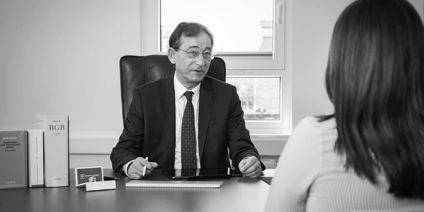 Rechtsanwalt und Fachanwalt für Arbeitsrecht Ralf Delgmann, Essen